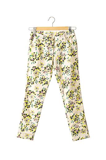 Pantalon casual beige ESSENTIEL pour femme