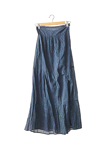 Robe mi-longue bleu BA&SH pour femme
