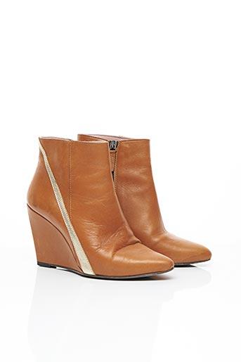 Bottines/Boots marron CORALIE MASSON pour femme