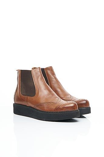 Bottines/Boots marron ACCADEMIA pour femme