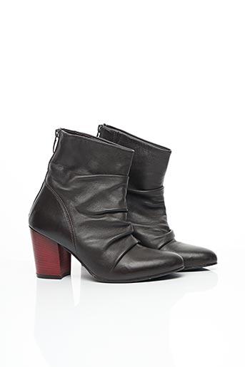 Bottines/Boots marron EMANUELLE VEE pour femme