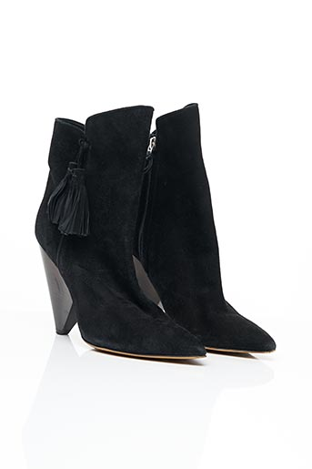 Bottines/Boots noir ISABEL MARANT pour femme