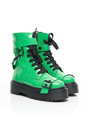 Bottines/Boots vert CURRENT MOOD pour femme