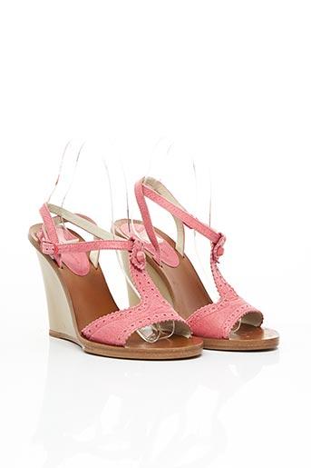 Sandales/Nu pieds rose BALENCIAGA pour femme