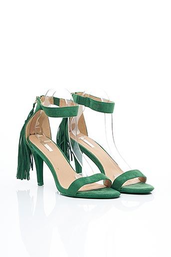 Sandales/Nu pieds vert BELLUCCI pour femme
