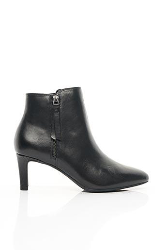 Bottines/Boots noir CLARKS pour femme