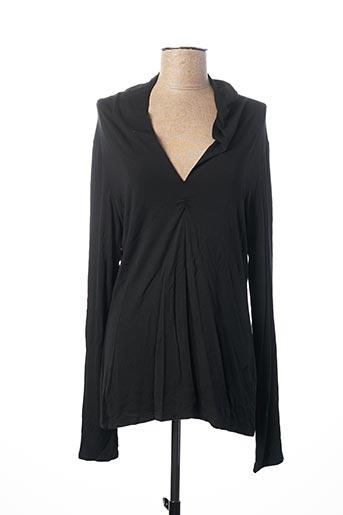 T-shirt manches longues noir ARIANNE pour femme
