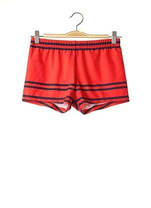 Short de bain rouge JULIPET pour homme