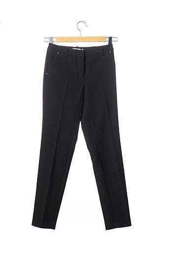 Pantalon 7/8 noir MORGAN pour femme