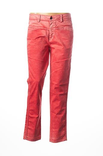 Pantalon casual rouge PAKO LITTO pour femme