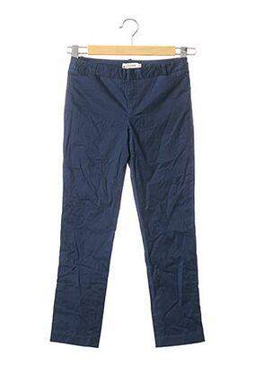 Pantalon casual bleu LILI SIDONIO pour fille