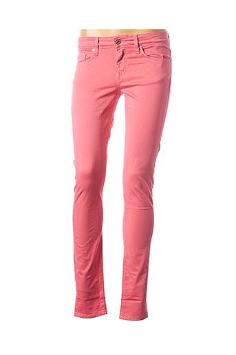 Pantalon casual rose SALSA pour femme