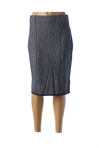 Jupe mi-longue bleu ESCORPION pour femme