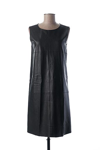 Robe mi-longue noir ESCORPION pour femme