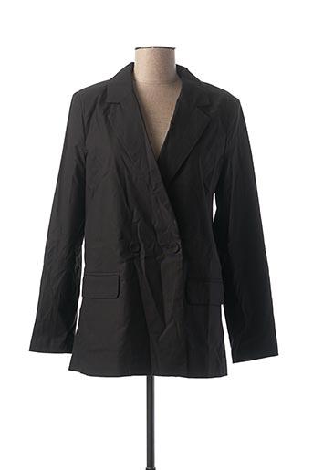 Veste chic / Blazer noir DAPHNEA pour femme