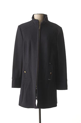 Manteau long bleu DALMARD MARINE pour femme