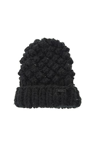 Bonnet noir BENCH pour femme