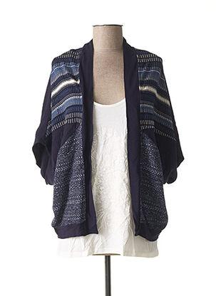 Twin-set bleu DESIGUAL pour femme