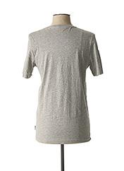 T-shirt manches courtes gris JACK & JONES pour homme seconde vue