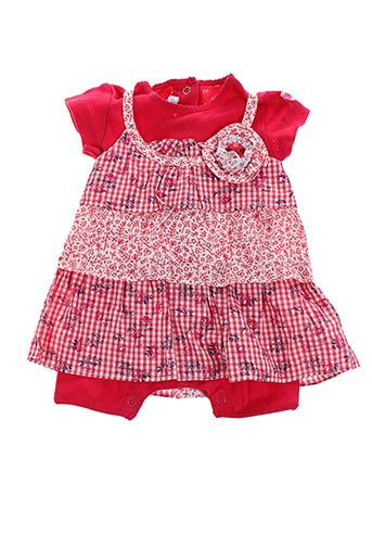 Combishort rouge ABSORBA pour fille