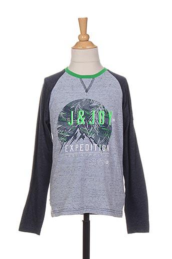 T-shirt manches longues gris JN-JOY pour garçon