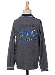 Polo manches longues bleu JN-JOY pour garçon seconde vue