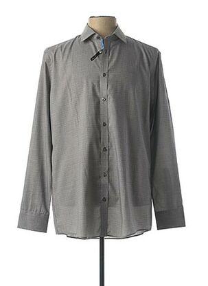 Chemise manches longues gris VENTI pour homme