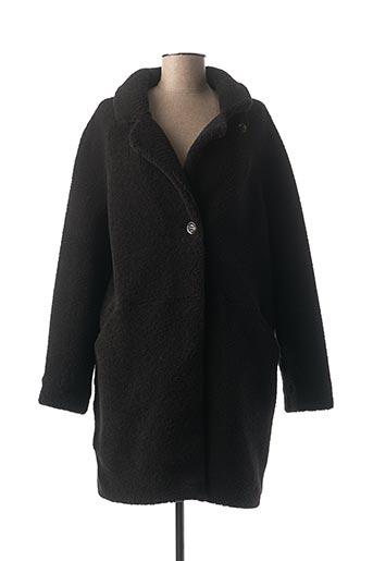 Manteau long noir BEAUMONT pour femme