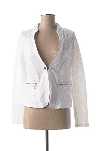 Veste casual blanc MC PLANET pour femme