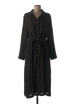 Robe longue noir GRACE & MILA pour femme