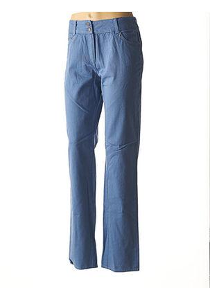 Pantalon casual bleu JAC JAC pour femme