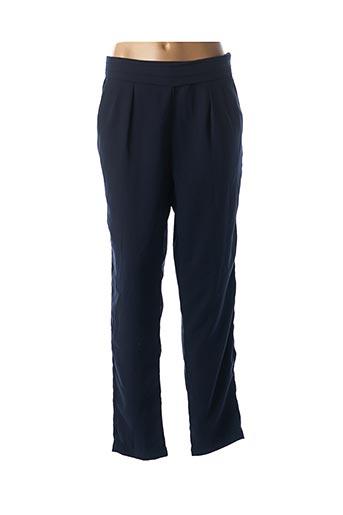 Pantalon casual bleu ARELINE pour femme