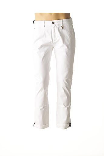 Pantalon casual blanc IZAC pour homme