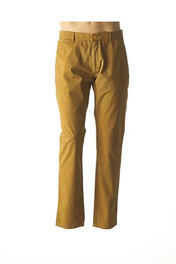 Pantalon casual jaune ABEYRON pour homme