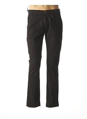 Pantalon casual noir IZAC pour homme