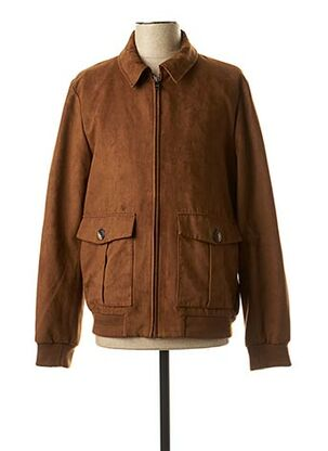 Veste casual marron IZAC pour homme