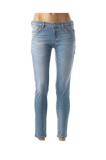 Jeans coupe slim bleu KOCCA pour femme