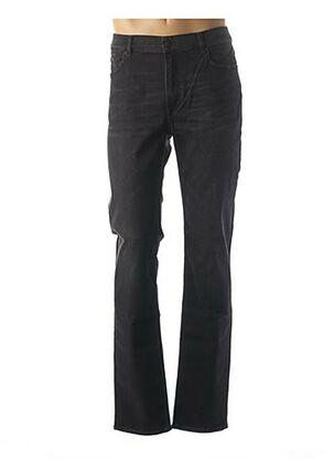 Jeans coupe slim noir KARL LAGERFELD pour homme