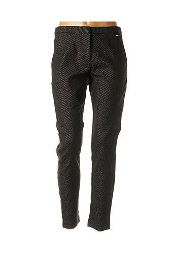 Pantalon chic noir B.YOUNG pour femme
