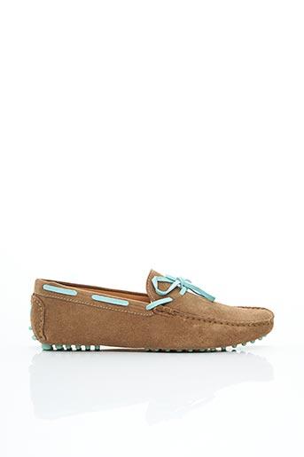 Chaussures bâteau marron BOBBIES pour homme