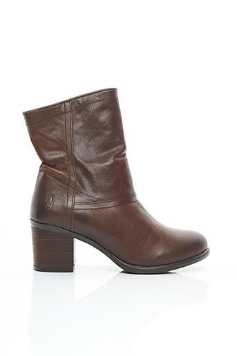 Bottines/Boots marron FLY LONDON pour femme
