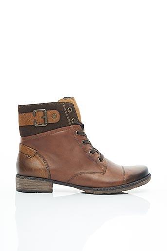 Bottines/Boots marron REMONTE pour femme