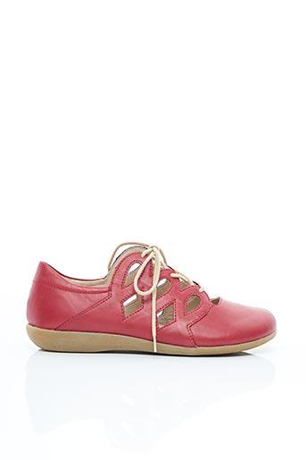Chaussures de confort rouge REMONTE pour femme