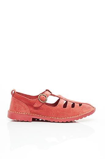 Sandales/Nu pieds rouge FLY LONDON pour femme