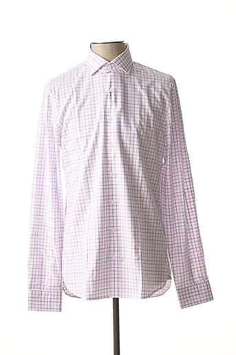 Chemise manches longues blanc MICHAEL KORS pour homme