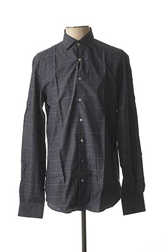 Chemise manches longues bleu MICHAEL KORS pour homme