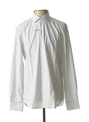 Chemise manches longues vert MICHAEL KORS pour homme