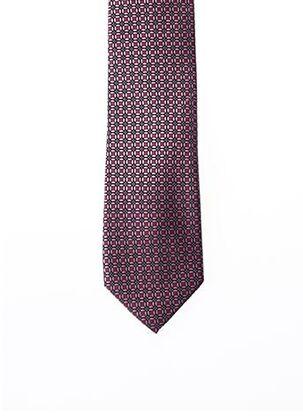 Cravate rose MICHAEL KORS pour homme