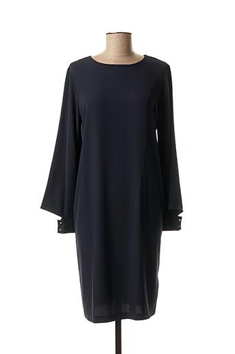 Robe mi-longue bleu LA FEE MARABOUTEE pour femme