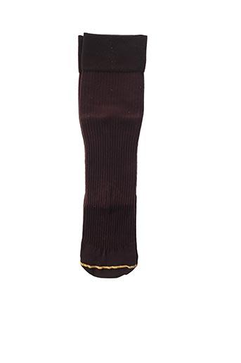 Chaussettes marron GUILLE pour unisexe